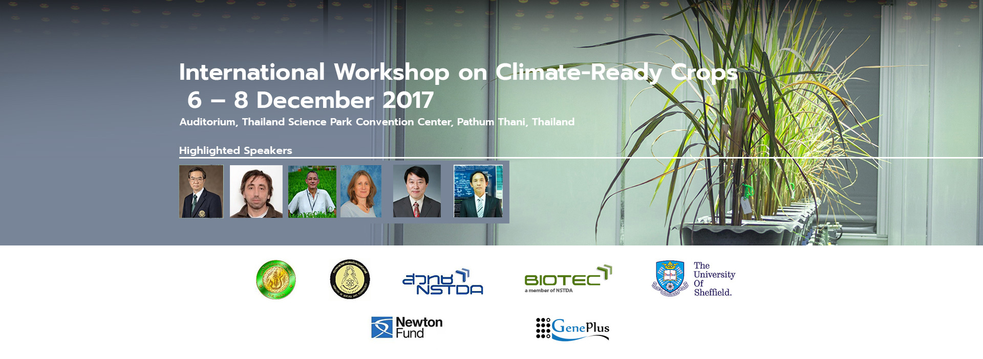 International Workshop on Climate-Ready Crops